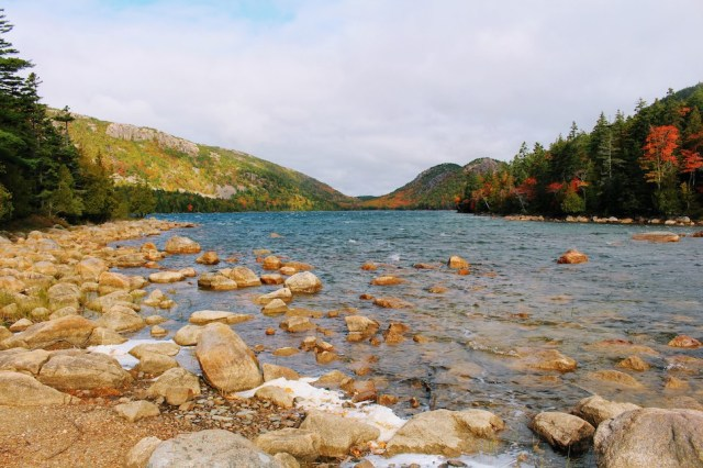 South Shore Jordan Pond in Acadia National Park