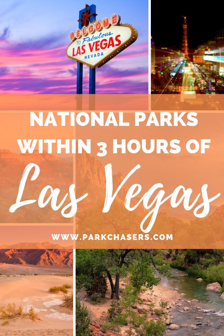National Parks within 3 hours of vegas