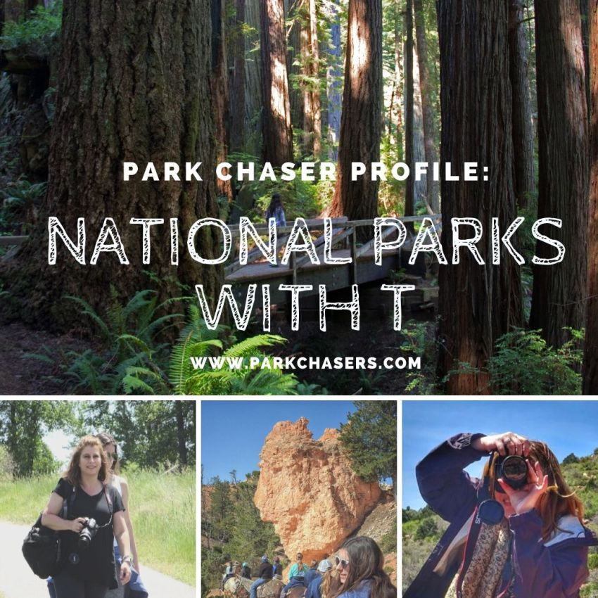 Park Chaser Profile National Parks with T