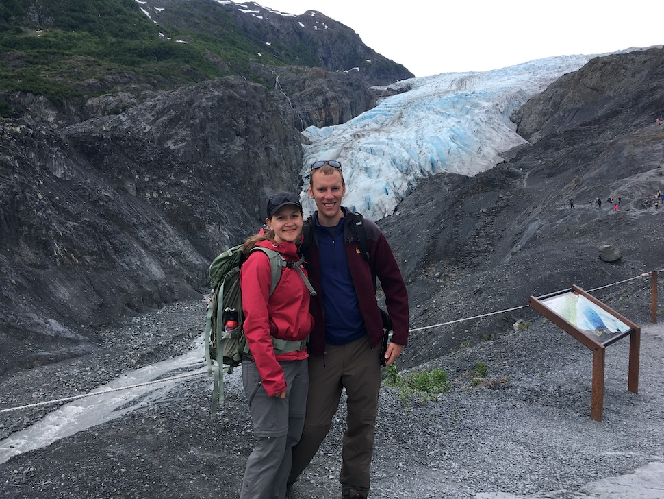 ParkChasers at Exit Glacier