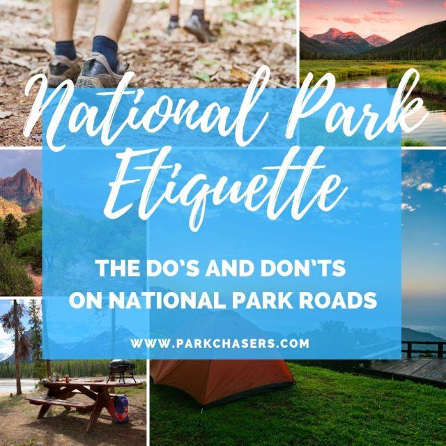 National Park Etiquette on the Roads