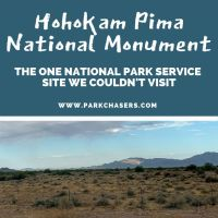 Hohokam Pima National Monument:  The National Park Site We Couldn't Visit
