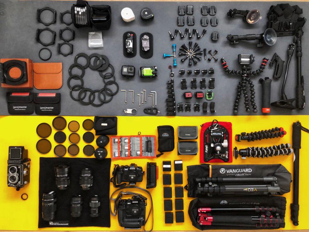 national park camera gear