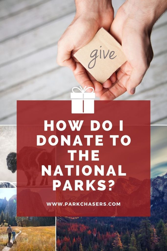 how to donate to the national parks
