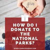 How do I donate to the National Parks?