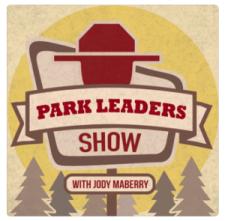 Logo for Park Leaders National Park Podcast