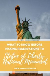 What to know before making reservations at Statue of Liberty