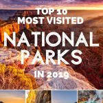 The Most Visited National Parks in 2019
