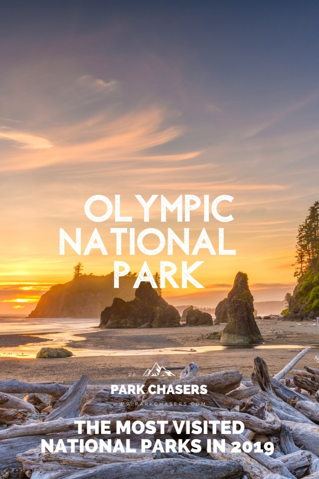 Olympic National Park - #9 most visited national park in 2019