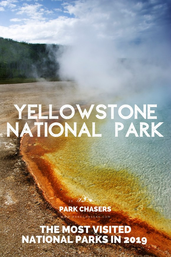 Yellowstone National Park - #6 most visited national park in 2019