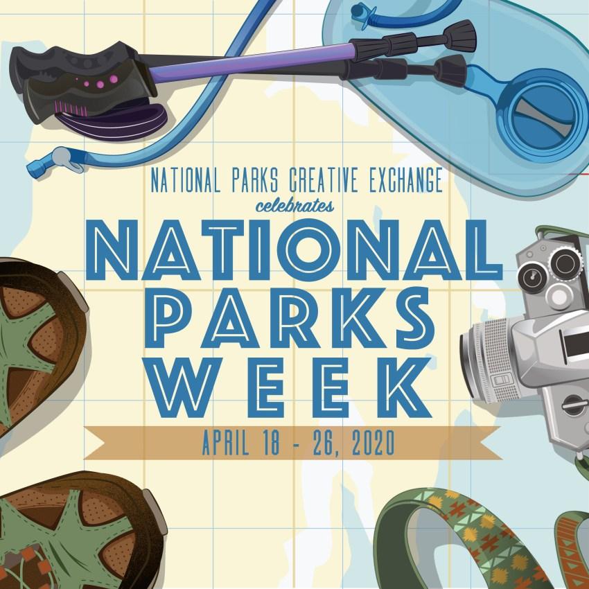 National Parks Week 2020 Logo