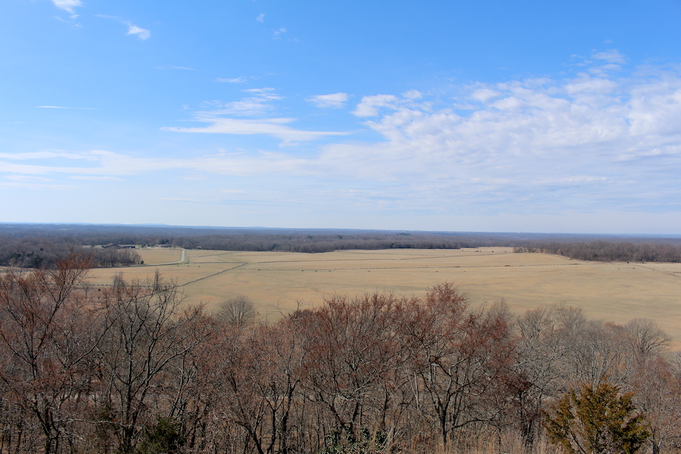 Overlook View at Pea Ridge
