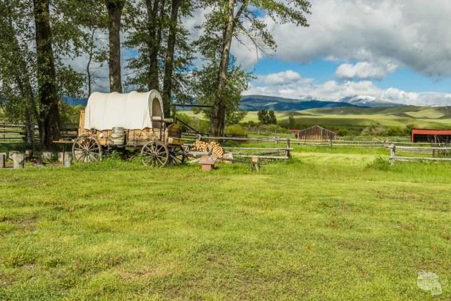 Chuck Wagon at Grant-Kohrs Ranch NHS
