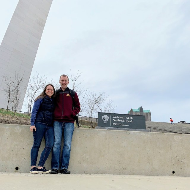 Park Chasers at Gateway Arch