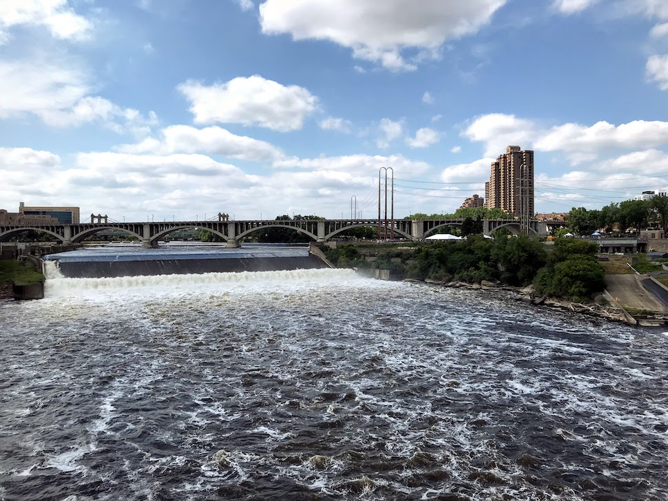 St. Anthony Falls Minneapolis