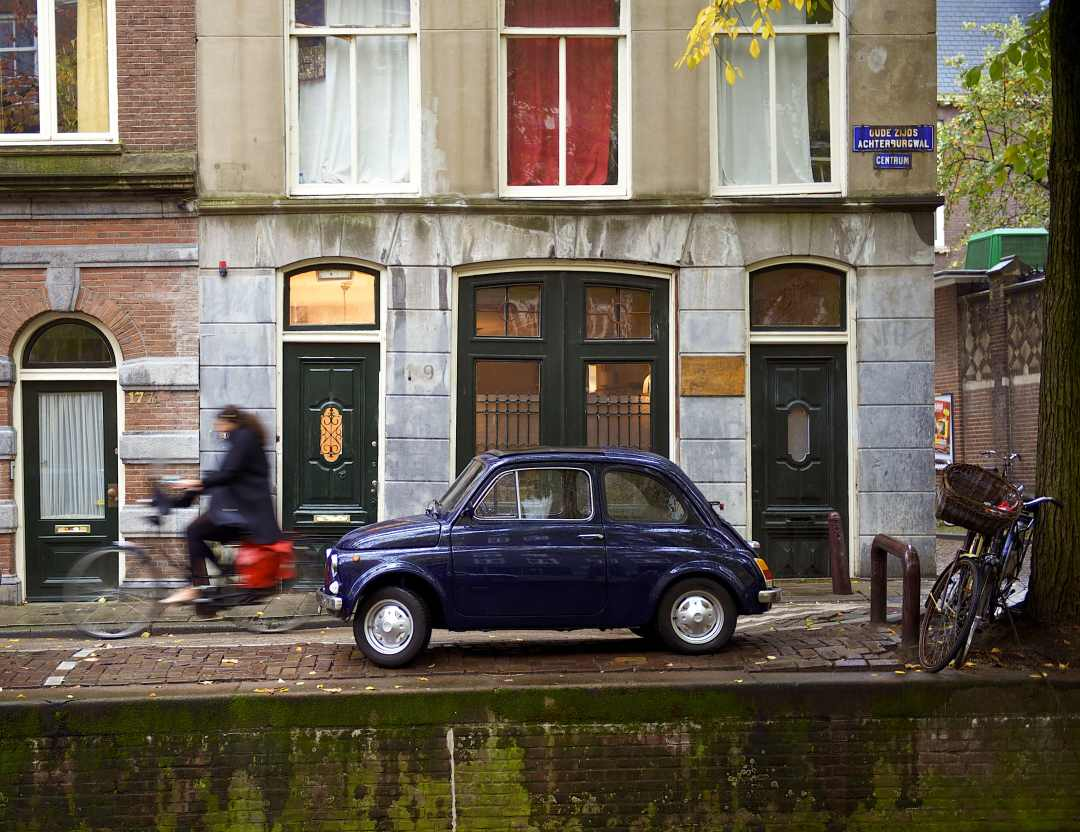 parking problem in amsterdam with parking bay sensors