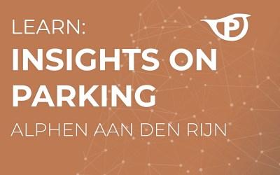 Insights on Parking: Alphen aan den Rijn