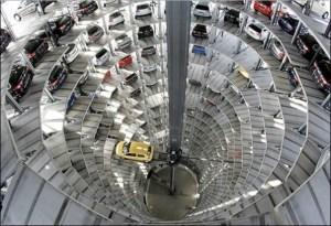 Parking garage vertical
