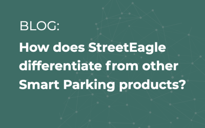 How does StreetEagle differentiate from other Smart Parking products?