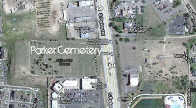Parker Colorado cemetery location