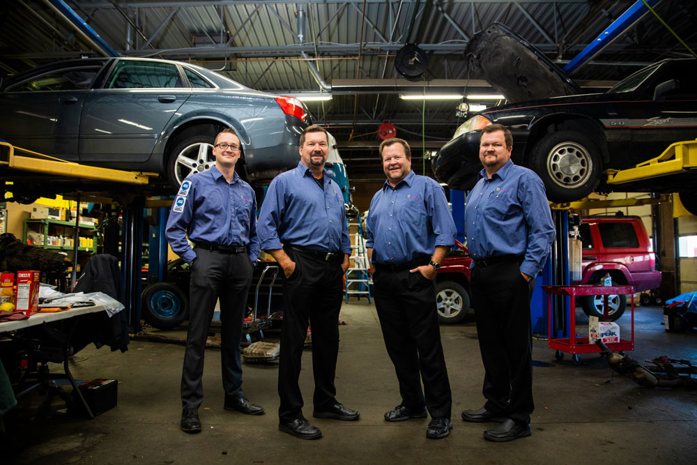 Pride Auto Care Team in Parker Colorado