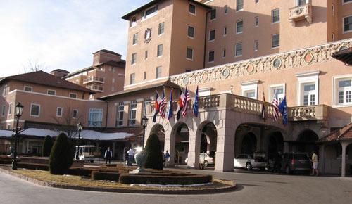 Broadmoor Hotel Entry Colorado Springs CO