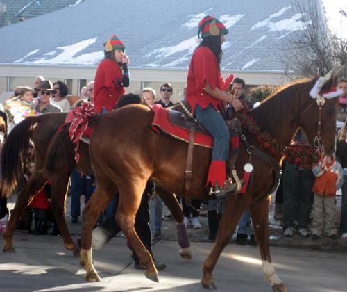 Parker county christmas parade