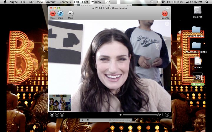 idina menzel brush with greatness dove competition
