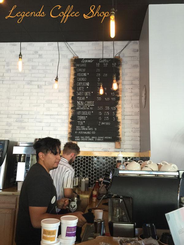 legends coffee shop Southlands aurora co