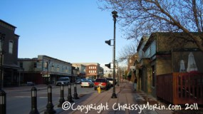 Mainstreet town of parker colorado spring in the rockies denver co
