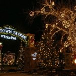 OBrien Park Christmas Lights Town of Parker Colorado