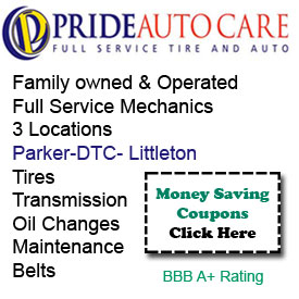 Pride Auto Care Parker CO Mechanic Car Repair Brakes Tire Center