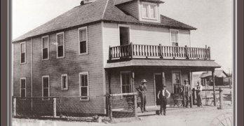 Rhode Island Hotel 1908 This building houses FIKA Coffee house on Mainstreet