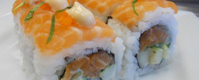 southwest sushi roll at indochine on mainstreet