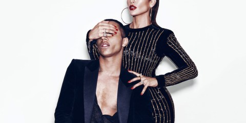 balmains olivier rousteing and j lo talk fashion race and pop culture 0