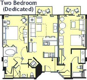 Bcv Two Bedroom Villa