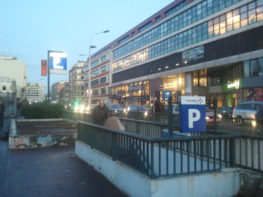 place parking opera lille