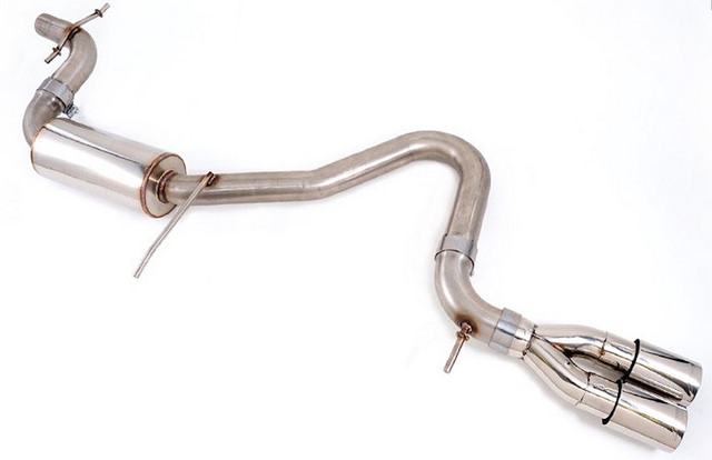 what is a cat back exhaust system