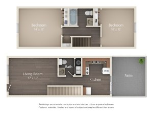 Two Bedroom Deluxe Style (#43)