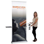 Barracuda Retractable Banner Stand