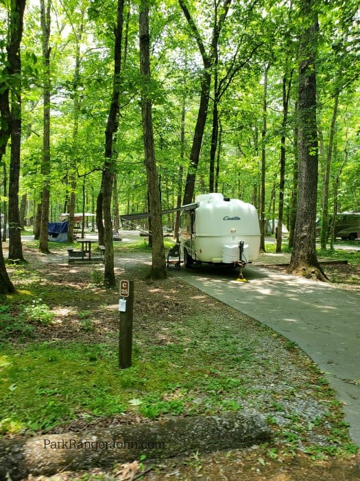 Reserve cosby run campground in cosby, tennessee. Cosby Campground Smoky Mountain National Park