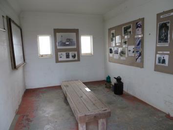 Inside of Oil Bunker Before Renovation
