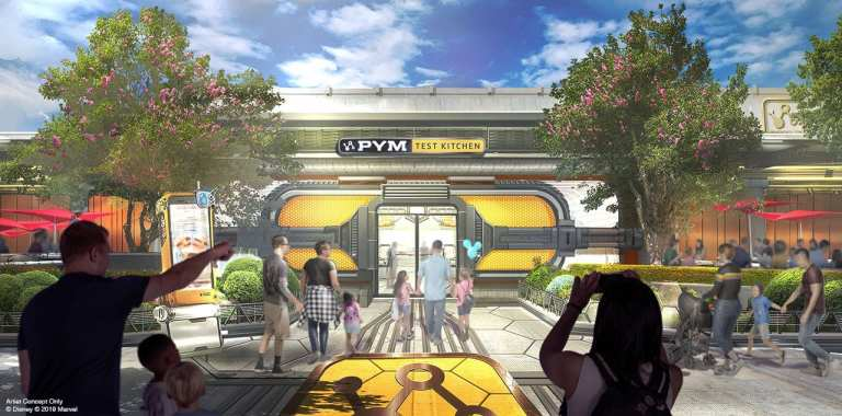 PYM Eatery Avengers Campus