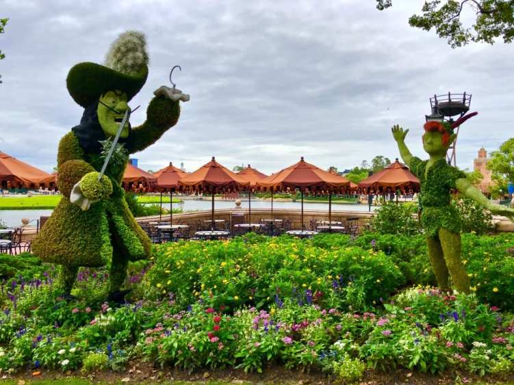 Peter Pan Topiary