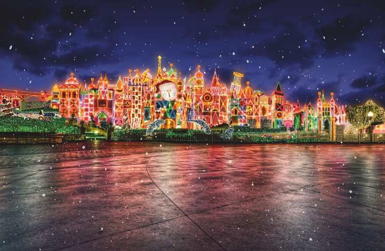 Holidays it's a small world