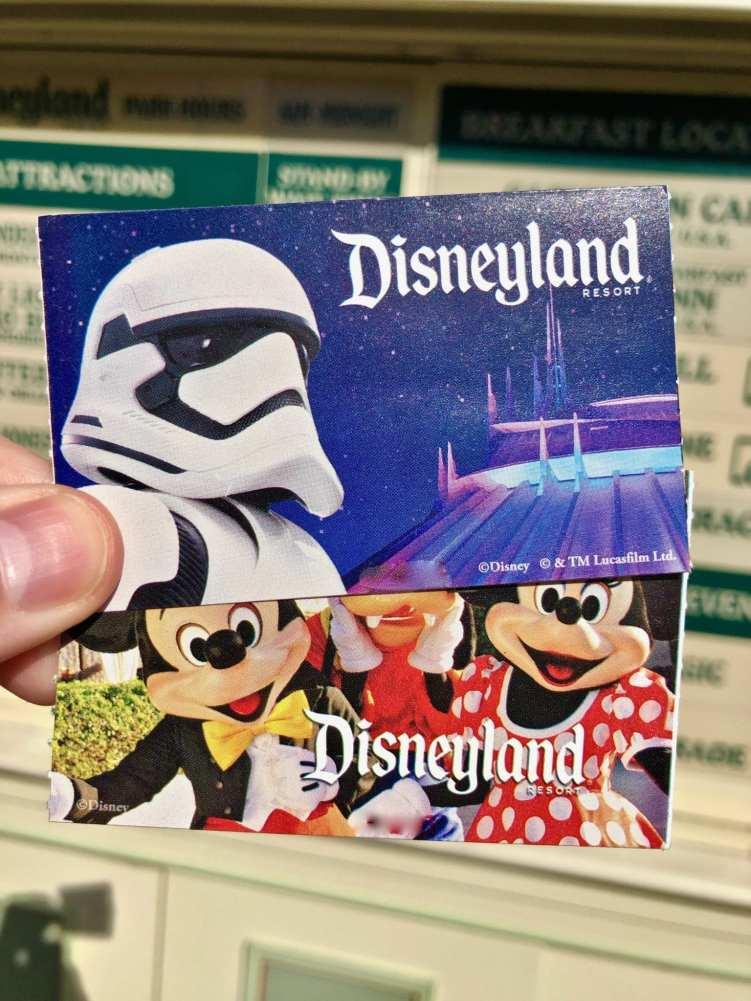 DVC Disneyland Tickets