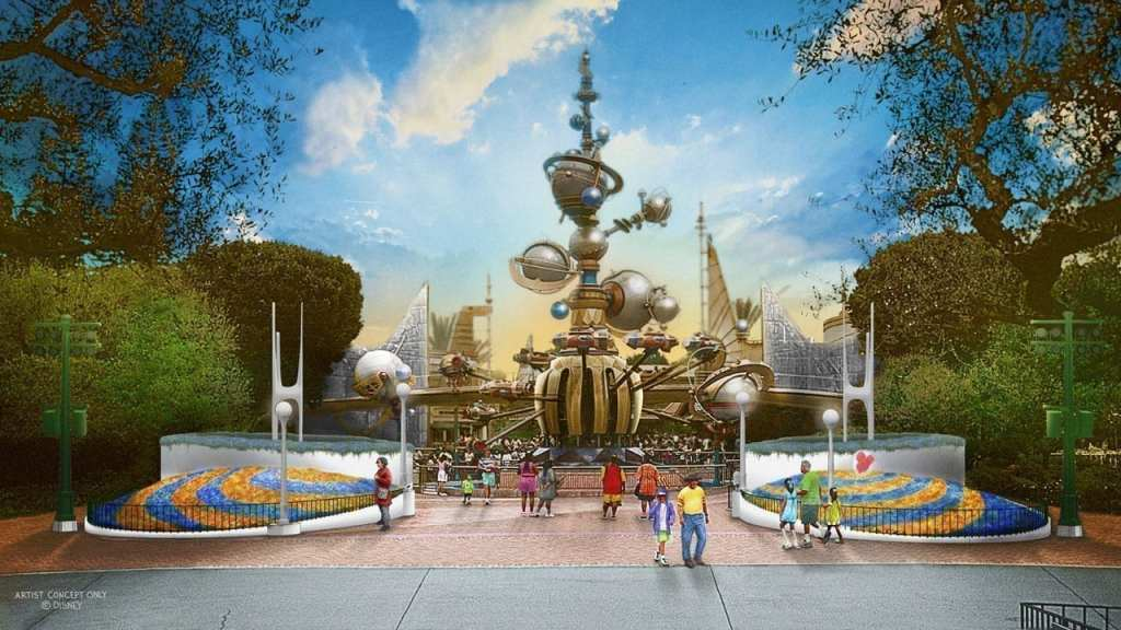 New Tomorrowland Entrance