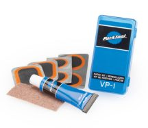 Contents of the Park Tool VP-1 Vulcanizing Patch Kit, click to enlarge