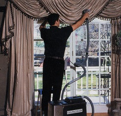 we clean drapes curtains shades