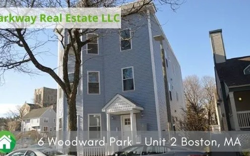 6 Woodward Park – Unit 2 Boston, MA – RENTED
